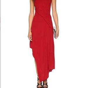 Issa tania draped dress